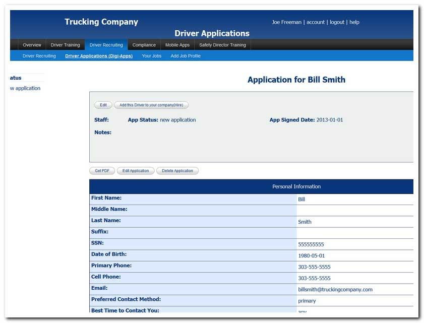 Applications To Print Off For Cdl DriversToPrintable Coloring