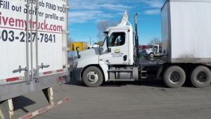 CDL College students practice Backing Maneuvers.