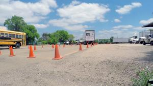 Class A Combination Vehicle CDL Skills Test.