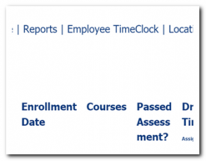 cdl-college-online-reports-time-clock