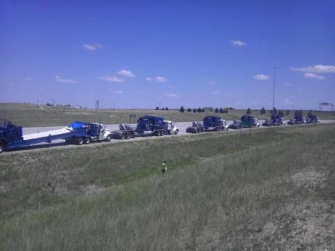 CDL Drivers returning from North Dakota
